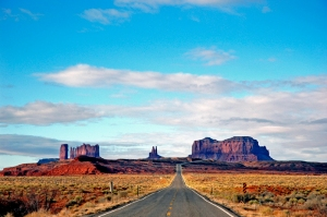 The Road North of Monument ValleyJA2