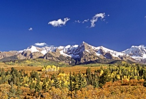Fall in the San Juan Mountains