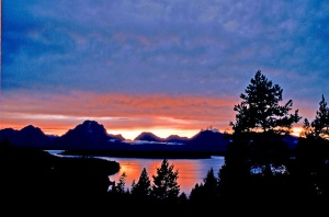 Jackson Lake in Grand Tetons National Park