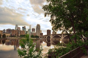 From the Stone Arch Bridge