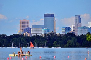 From Lake Calhoun