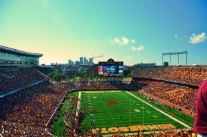 Gopher football at the end of summer.