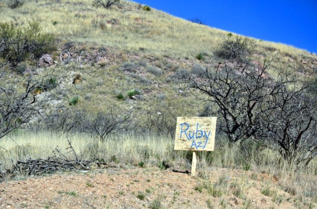 Ruby, AZ ghost town.